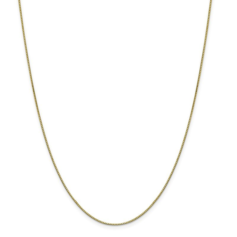 Quality Gold 10k .90mm Box Chain
