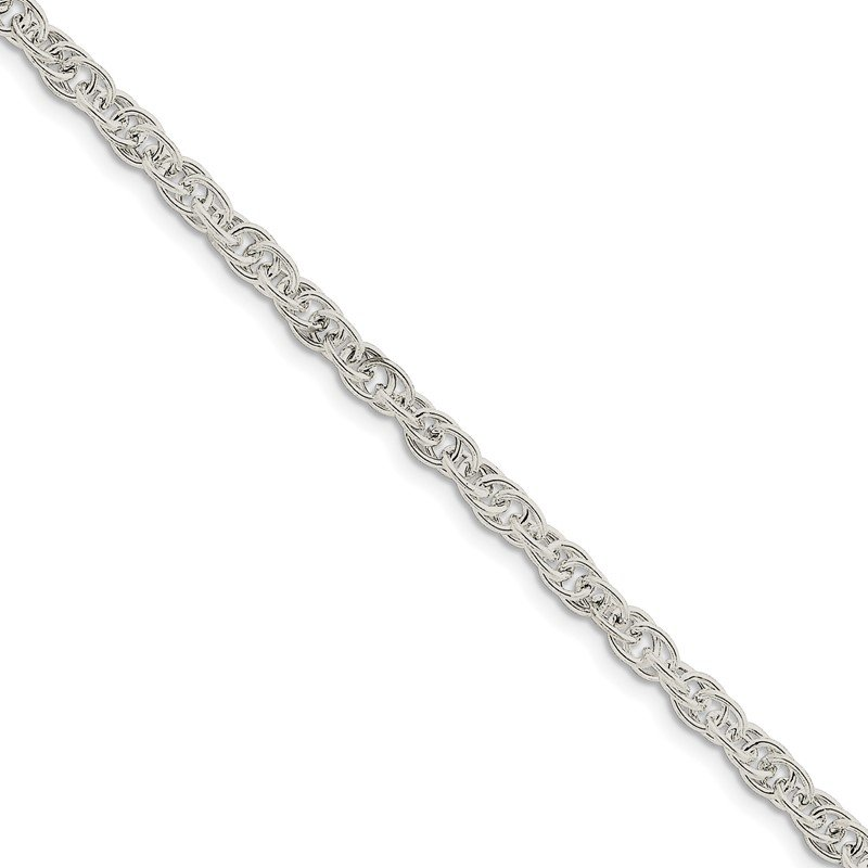 Quality Gold Sterling Silver 5mm Hollow Loose Rope Chain