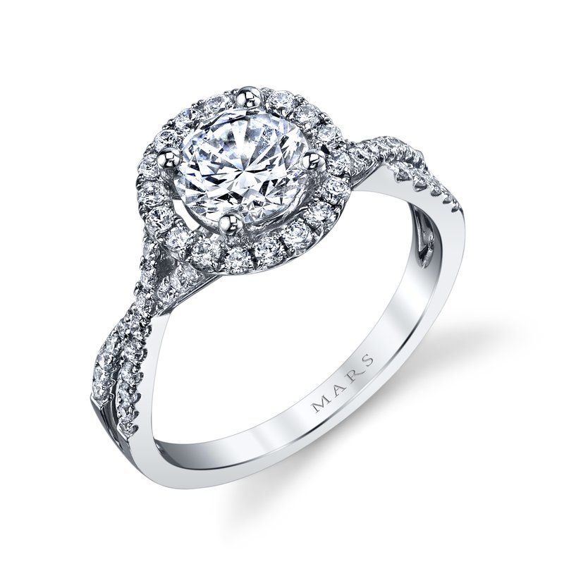 MARS Jewelry - Engagement Ring 25367