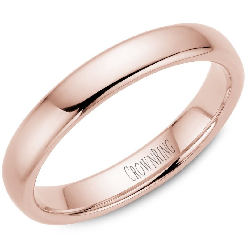 CrownRing CrownRing Men's Wedding Band TDS14R4