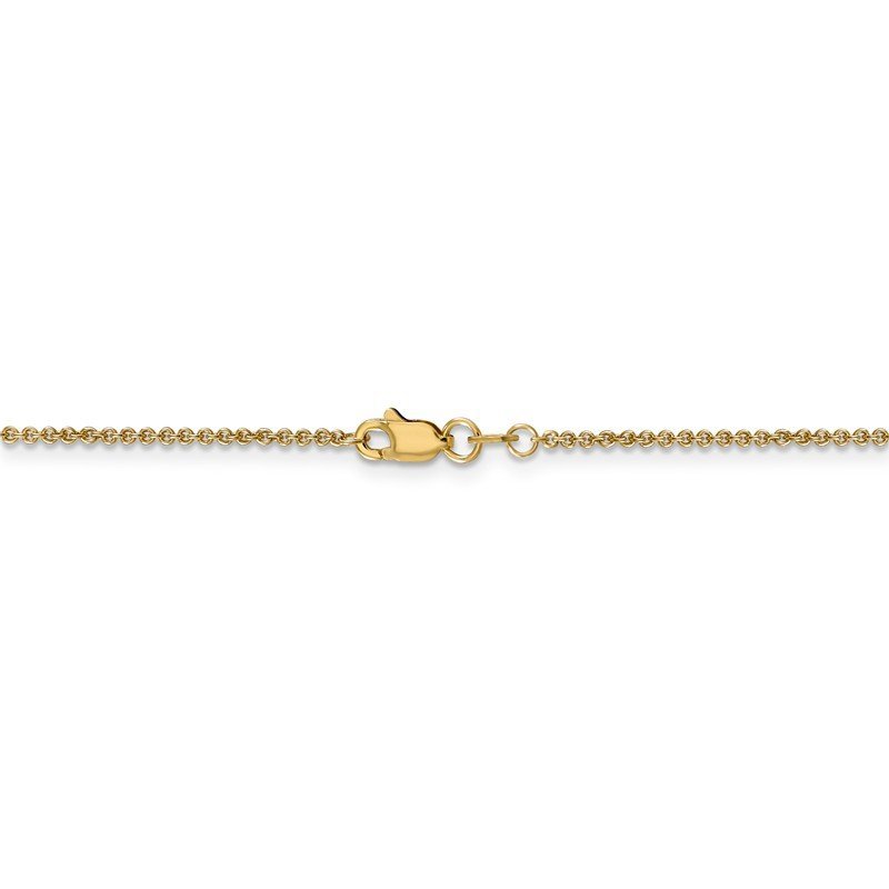Leslie's Leslie's 14K 1.4 mm Round Cable Chain