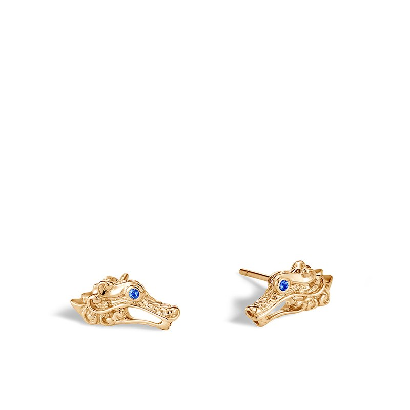 JOHN HARDY Legends Naga 15x7.5MM Stud Earring in 18K Gold