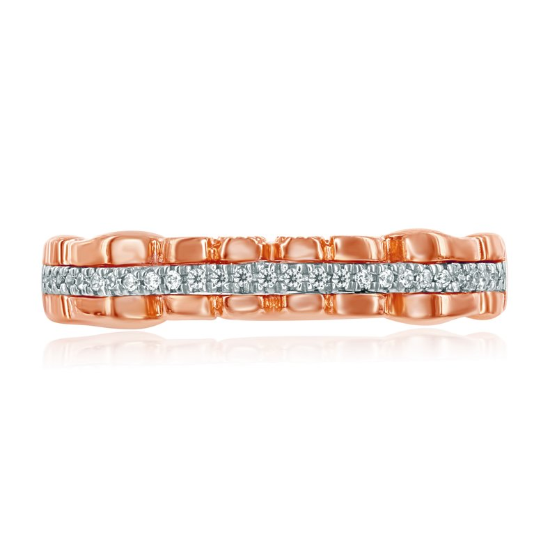 Veer Diamonds HOLLY BUTTERFLY MATCHING BAND