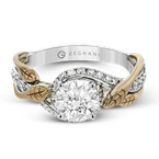Zeghani ZR1389 ENGAGEMENT RING