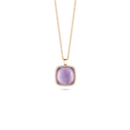 Roberto Coin Pendant With Diamonds, Amethyst And Mother Of Pearl