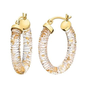Lucite Hoops 23x30mm