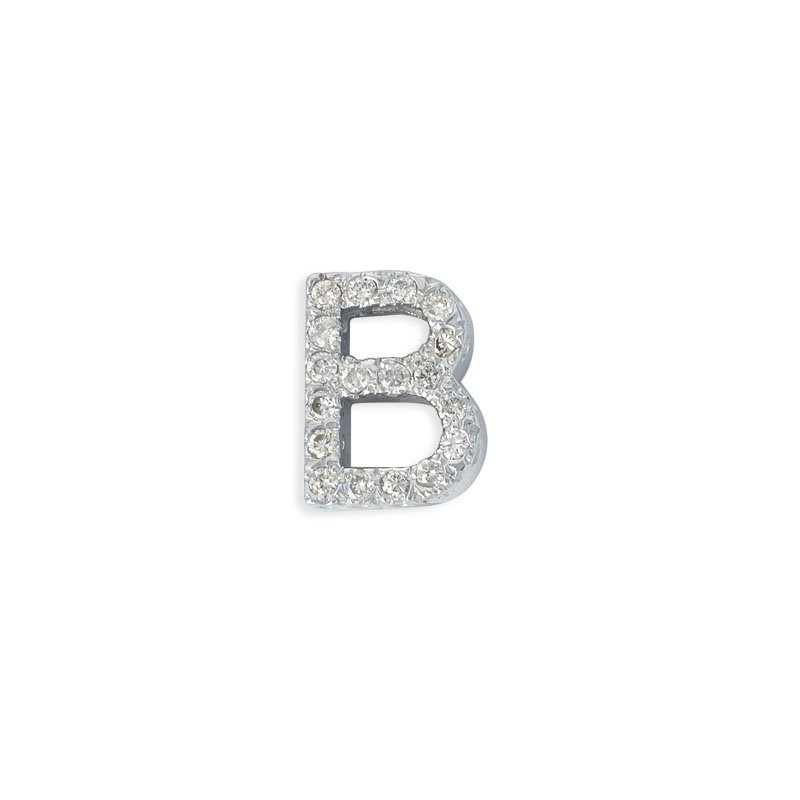 S. Kashi  & Sons 14kw Gold Letter B Pendant