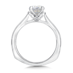 Valina Bridals Solitaire mounting .02 tw., 1 ct. round center.