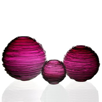 Sophie Wine Red Vases
