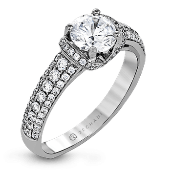 ZR1229 ENGAGEMENT RING