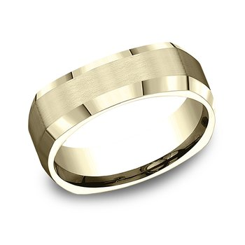 Comfort-Fit Design Wedding Band