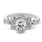 Simon G TR656 ENGAGEMENT RING