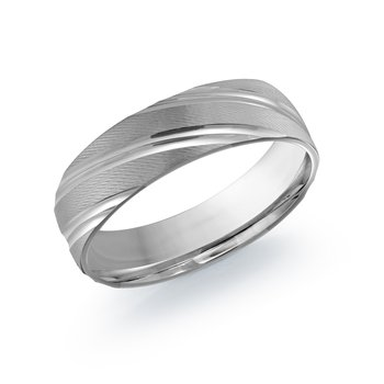Twisted Mens Wedding Band