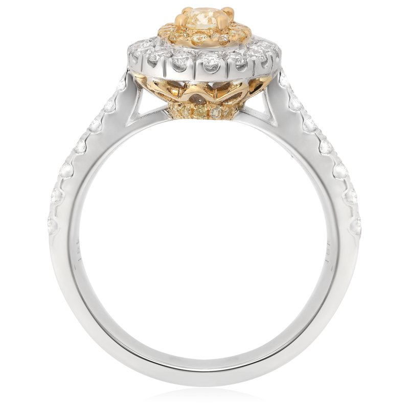 Roman & Jules Yellow Diamond Pave Ring