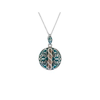 Celtic Knotwork Reversible Pendant