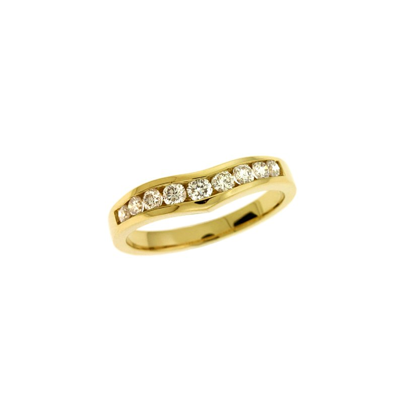 S. Kashi & Sons Bridal V Shape Band