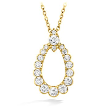 0.85 ctw. Aerial Regal Teardrop Pendant