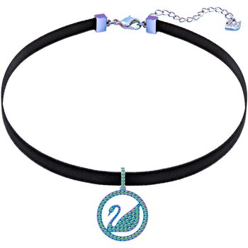 Pop Swan Choker, Purple, Lilac PVD coating