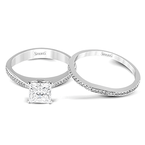 Simon G MR1507 WEDDING SET