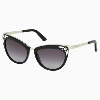 Fortune Sunglasses, SK0102-F 01B, Black