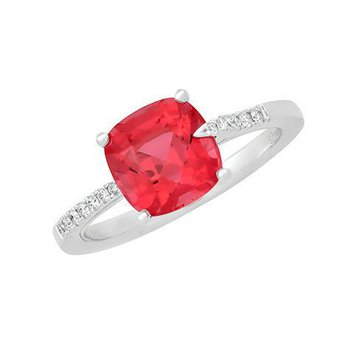 Padparadscha Ring-CR11731WPD