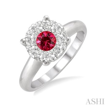 lovebright gemstone & diamond ring