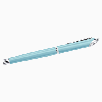 Crystal Starlight Rollerball Pen, Light Blue