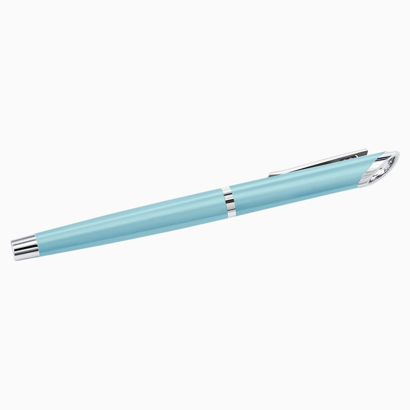 Swarovski Crystal Starlight Rollerball Pen, Light Blue