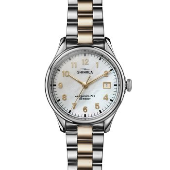 The Vinton 38mm Mother Of Pearl Dial Womens Watch