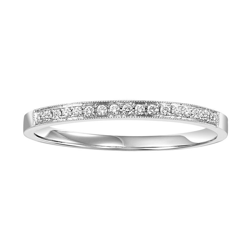 Bridal Bells 14K Diamond Band