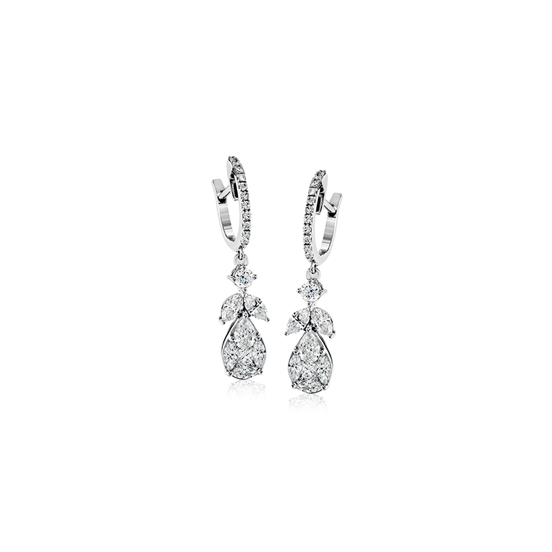 Simon G LP4416 EARRING