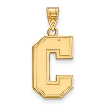 Gold-Plated Sterling Silver College of Charleston NCAA Pendant