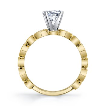 MARS 27217 Diamond Engagement Ring, 0.31 Ctw.