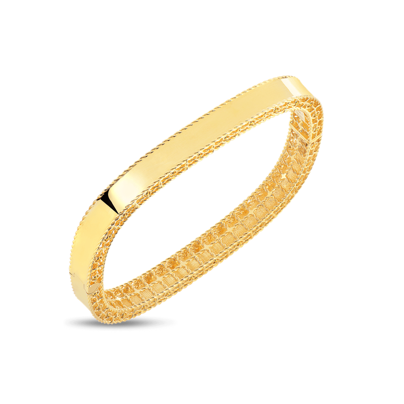 Roberto Coin 18Kt Gold Slim Bangle