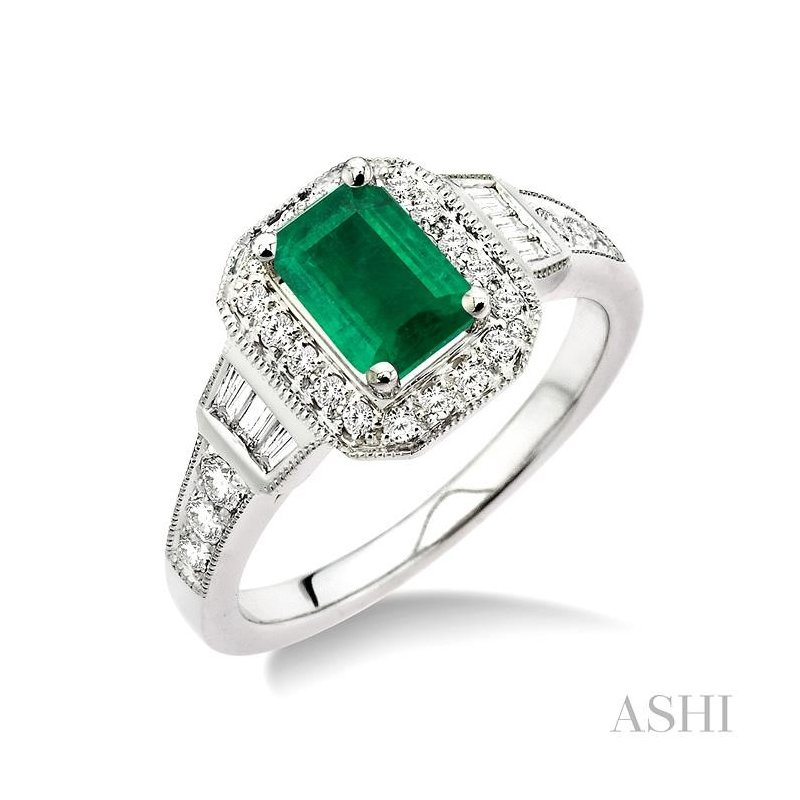 Gemstone Collection gemstone & diamond ring
