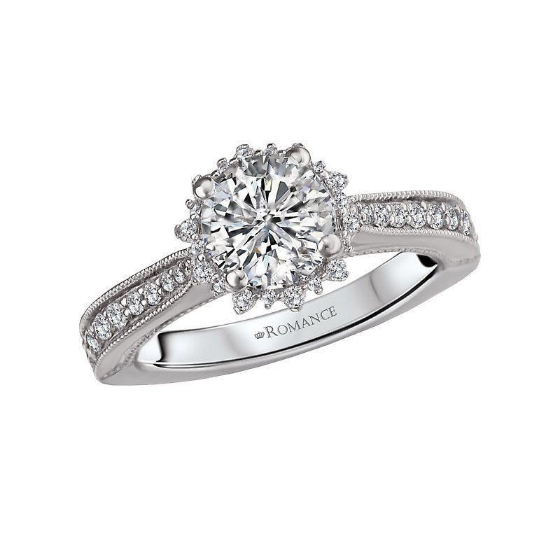 Romance Halo Semi-Mount Ring