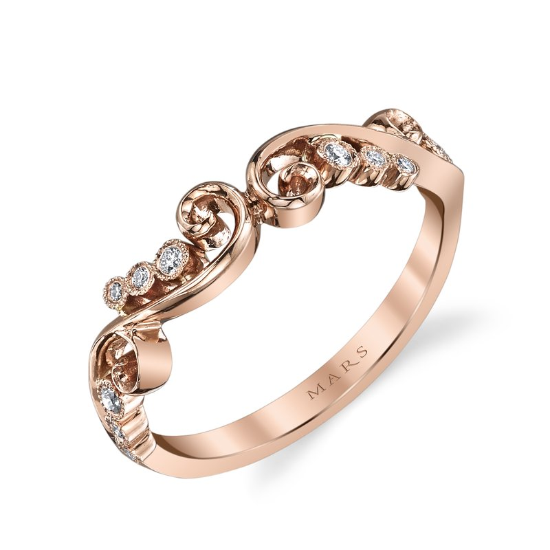 MARS Jewelry - Wedding Band 26507