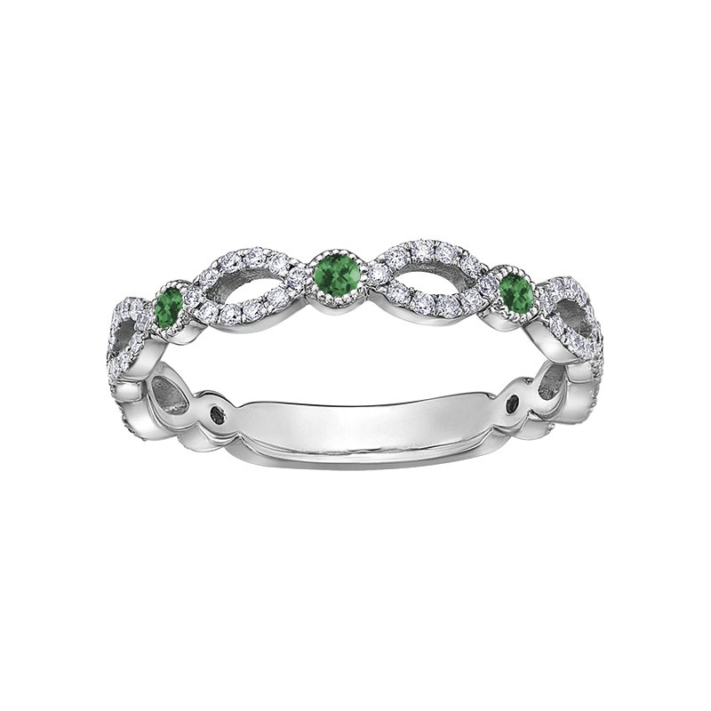 D of D Signature Emerald Ladies Ring