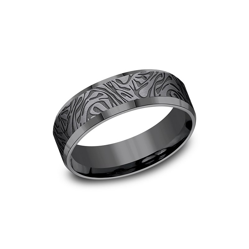Tantalum Tantalum Comfort-fit wedding band