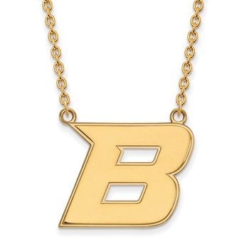 Gold Boise State University NCAA Necklace