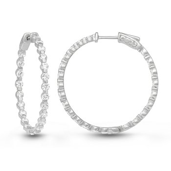 SULTANA SHARED PRONG HOOPS
