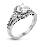 Zeghani ZR1316 ENGAGEMENT RING