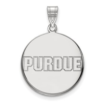 Gold Purdue University NCAA Pendant