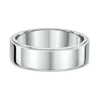 7mm Side Cut Heavy Wedding Band