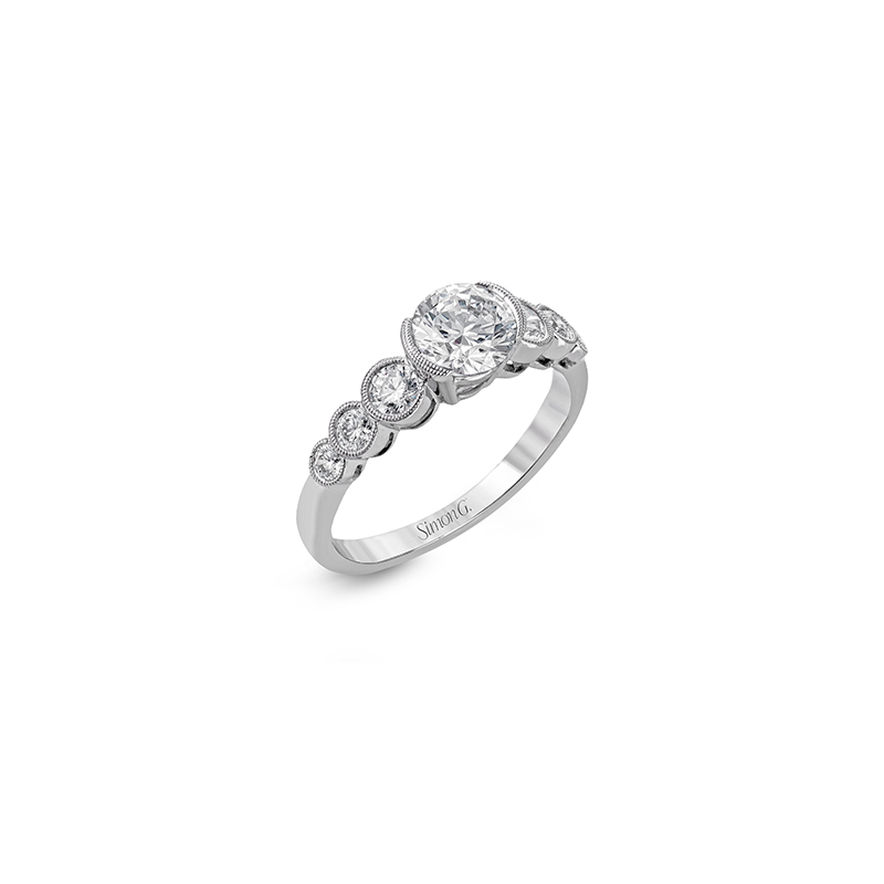 Simon G MR2602 ENGAGEMENT RING