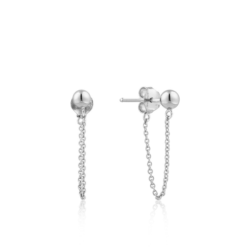 Ania Haie Modern Chain Stud Earrings