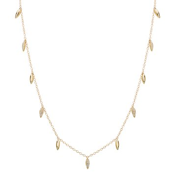Ladies Diamond Fashion Necklace