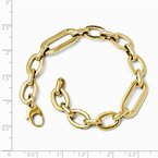 Leslie's Leslie's 14K Polished 7in Fancy Link Bracelet