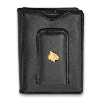 Gold-Plated Sterling Silver University of Louisville NCAA Wallet