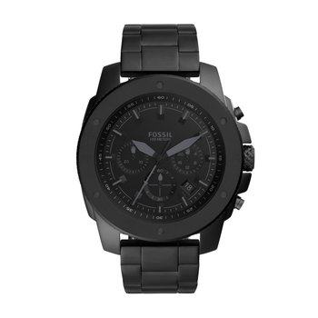 Mega Machine Chronograph Black Stainless Steel Watch